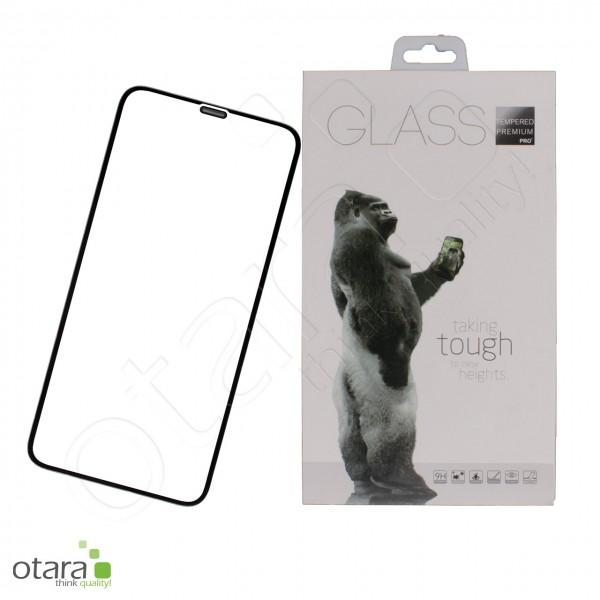 Schutzglas Premium 11D für iPhone XR/11, schwarz
