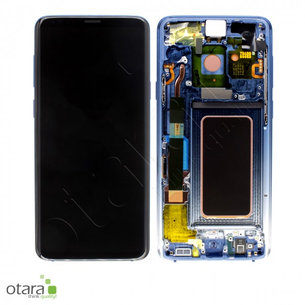 Displayeinheit Samsung Galaxy S9 Plus (G965F), polaris blue, Serviceware