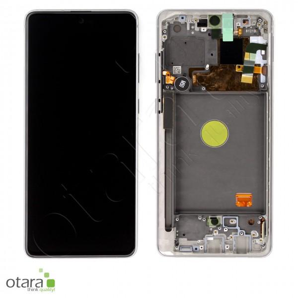 Displayeinheit Samsung Galaxy Note 10 Lite (N770F), aura white, Serviceware