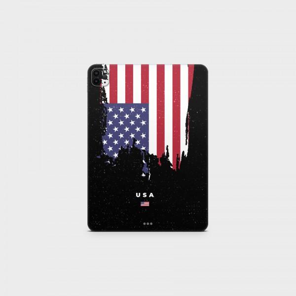 "GREEN MNKY Backcover Skin Tablet 11"" (Flags Serie) ""USA Flag"" [3 Stück]"