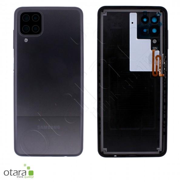Akkudeckel Samsung Galaxy A12 (A125F), black, Serviceware
