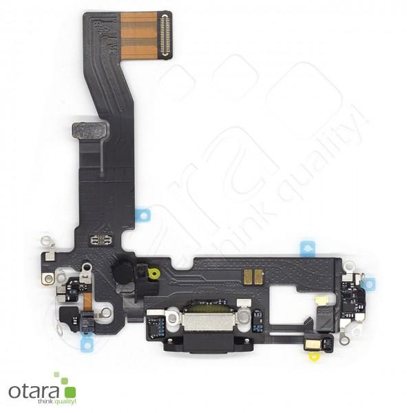 Lade Konnektor Flexkabel geeignet für iPhone 12 (Ori/pulled Qualität), schwarz