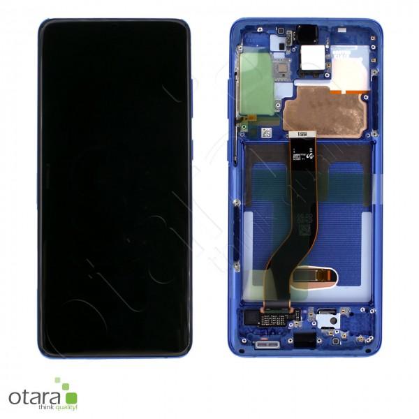 Displayeinheit Samsung Galaxy S20 Plus (G985F|G986B), aura blue, Serviceware
