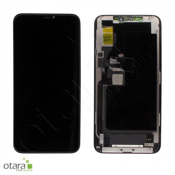 Displayeinheit geeignet für iPhone 11 Pro Max (COPY), soft OLED, schwarz