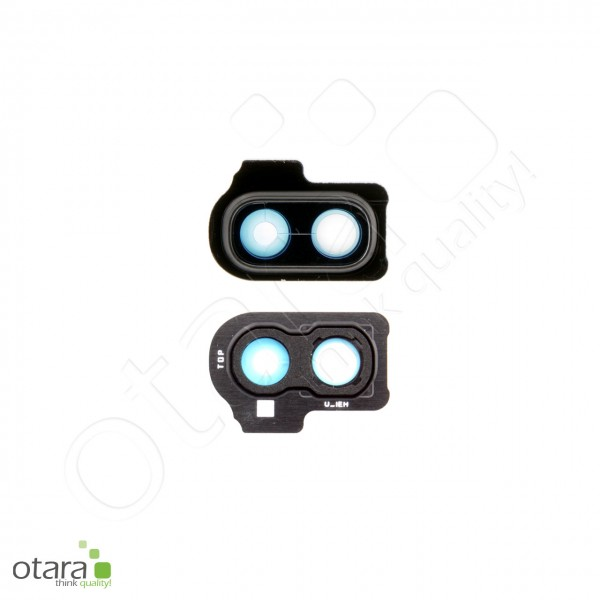 Samsung Galaxy A20E (A202F) Kamera Ring/Abdeckung frame, black, Serviceware