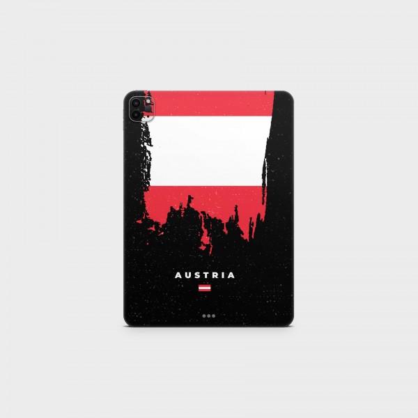 "GREEN MNKY Backcover Skin Tablet 11"" (Flags Serie) ""Austria Flag"" [3 Stück]"