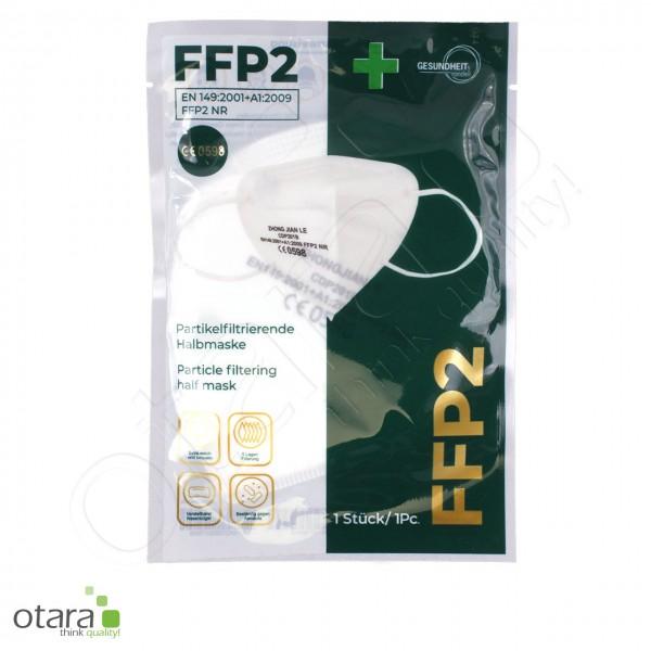 1x FFP2 KN95 Mund- und Nasenmaske, Gesichtsmaske, 5lagig