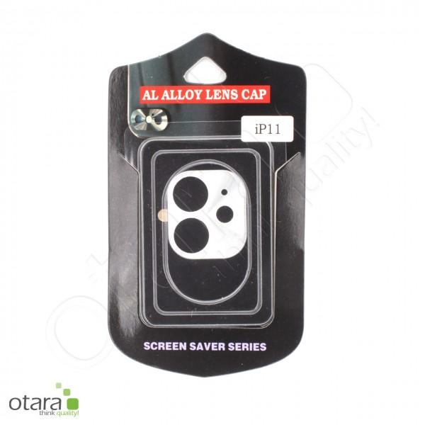 Aluminium Schutz für Hauptkamera iPhone 11, silber (mit Retail Verpackung)