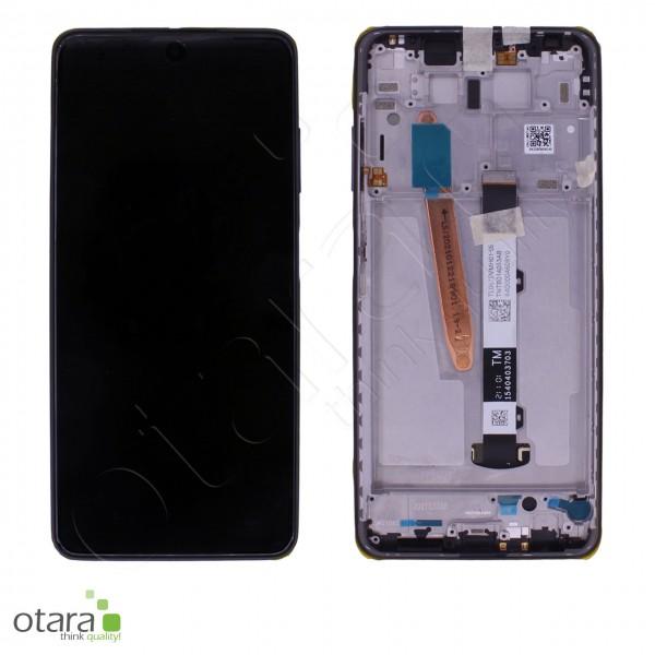 Displayeinheit XIAOMI POCO X3 NFC (M2007J20CG), Shadow Gray (schwarz), Serviceware