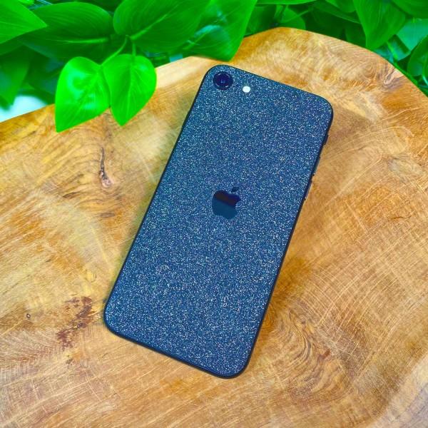 "GREEN MNKY Backcover Skin Smartphone 7"" (Glitter Serie) ""Black Glitter"" [3 Stück]"