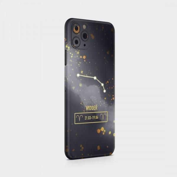 "GREEN MNKY Backcover Skin Smartphone 7"" (Zodiac Serie) ""Widder Zodiac"" [3 Stück]"