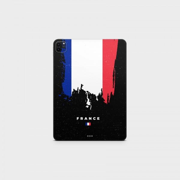 "GREEN MNKY Backcover Skin Tablet 11"" (Flags Serie) ""France Flag"" [3 Stück]"