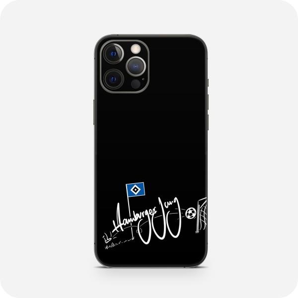 "GREEN MNKY Backcover Skin Smartphone 7"" (HSV Kollektion) ""Hamburger Jung Goal Black"" [3 Stück]"