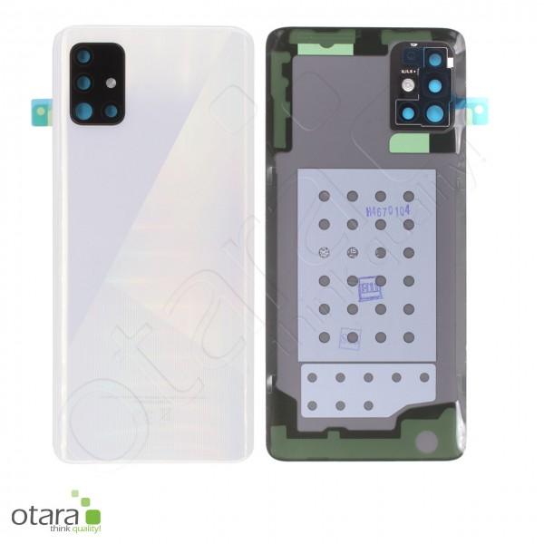Akkudeckel Samsung Galaxy A51 (A515F), Prism crush white, Serviceware