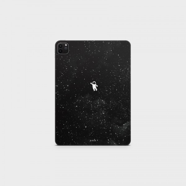 """GREEN MNKY Backcover Skin Tablet 11"""" (Design Serie) """"Lonely Astronaut"""" [3 Stück]"""