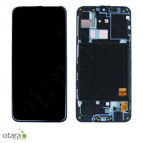 Displayeinheit Samsung Galaxy A40 (A405F), black, Serviceware