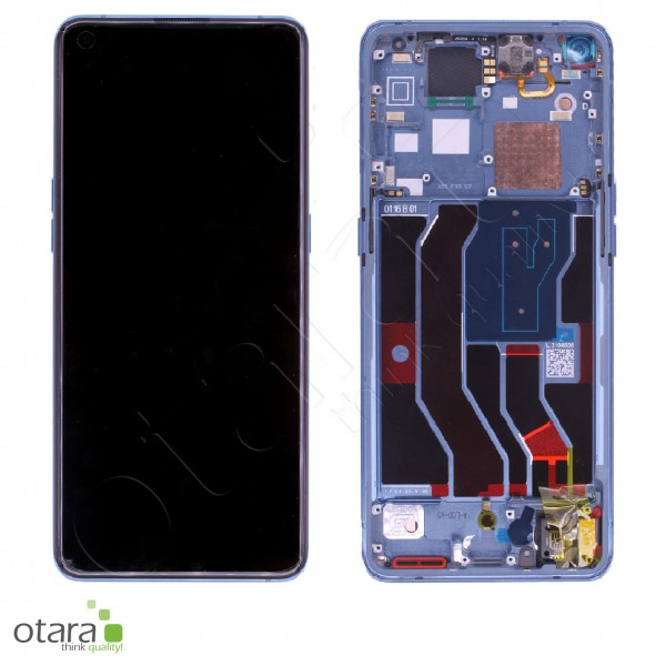 Displayeinheit OPPO FIND X3 Pro, gloss blue, Serviceware