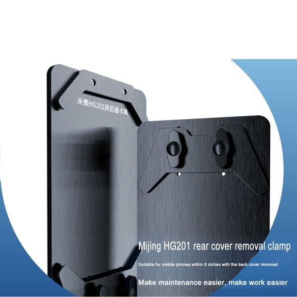 Fixierung, Holder/fixture, Universal für iPhone Backcover Reparatur (MIJING HG201)