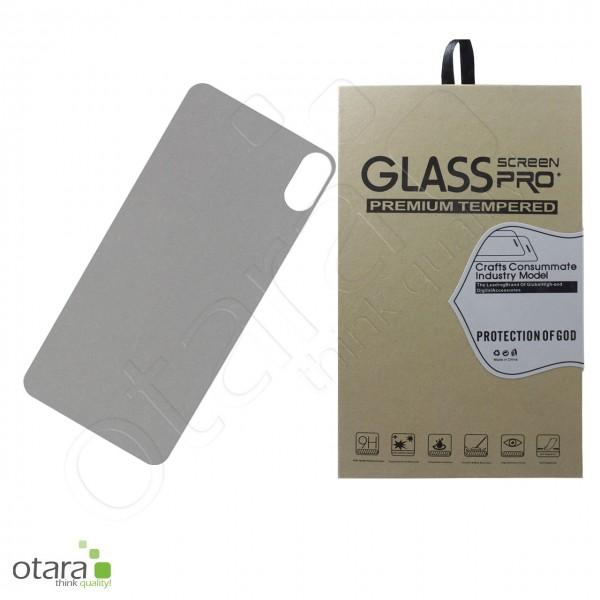 Schutzglas für Akkudeckel für iPhone XS Max