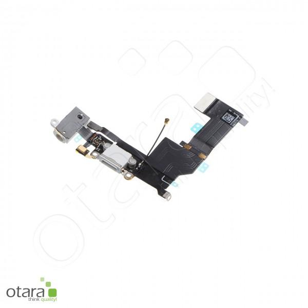 Lade Konnektor + Audio Flexkabel geeignet für iPhone SE, weiß