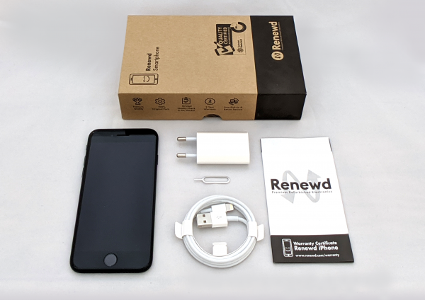 Renewd© Apple iPhone 8, 256GB (zert. aufbereitet), schwarz