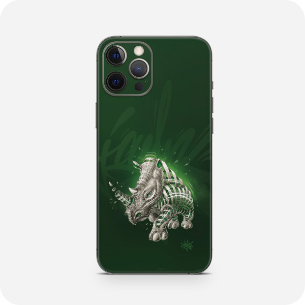 "GREEN MNKY Backcover Skin Smartphone 7"" (Jayn Kollektion) ""Rhino"" [3 Stück]"