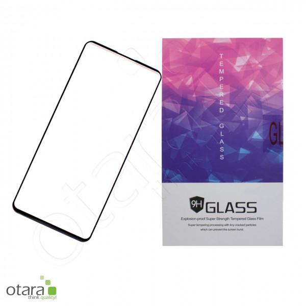 Schutzglas Edge to Edge Samsung Galaxy S10 Lite, schwarz