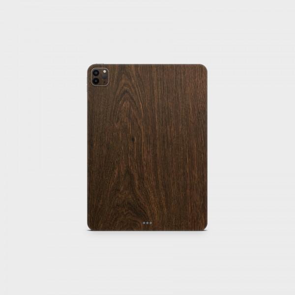 "GREEN MNKY Backcover Skin Tablet 11"" (Struktur Serie) ""Dark Wood"" [3 Stück]"