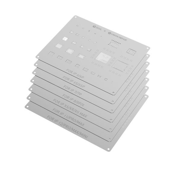 2UUL BGA Reballing Stencil für iPhone 11/11 Pro/11 Pro Max