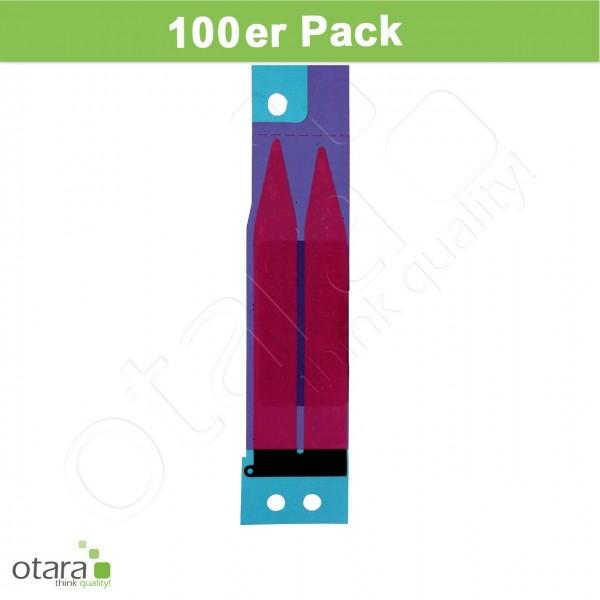 Akkuklebestreifen geeignet für iPhone 5/5c/5s/SE [100 Stück]
