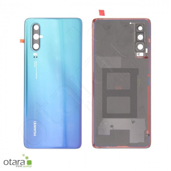 Akkudeckel Huawei P30, aurora blue, Serviceware