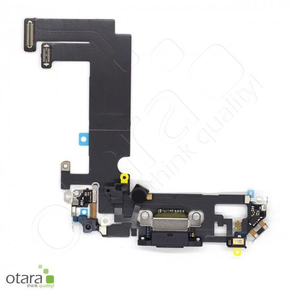 Lade Konnektor Flexkabel geeignet für iPhone 12 Mini (Ori/pulled Qualität), schwarz