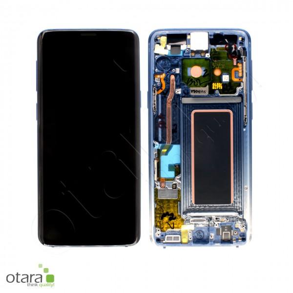 Displayeinheit Samsung Galaxy S9 (G960F), polaris blue, Serviceware