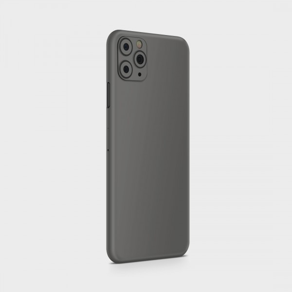 "GREEN MNKY Backcover Skin Smartphone 7"" (Struktur Serie) ""Cute Grey"" [3 Stück]"
