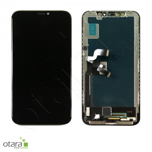 Displayeinheit geeignet für iPhone XS (COPY), INCELL LCD, schwarz