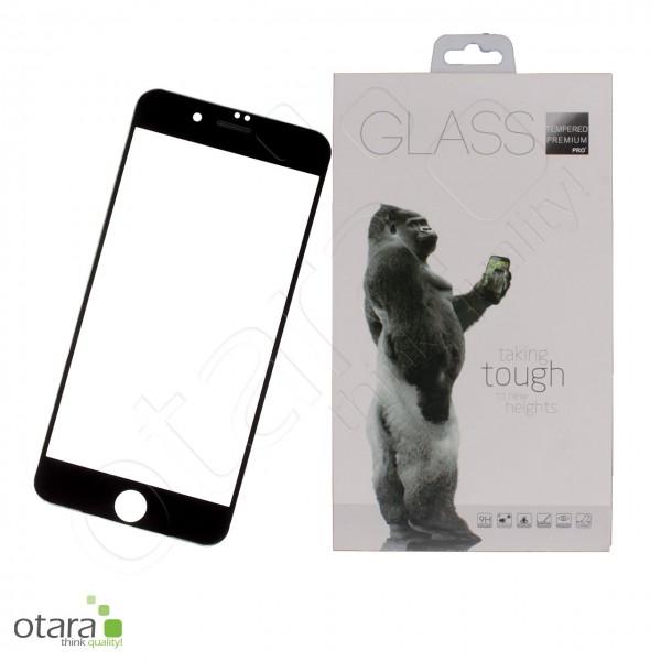 Schutzglas Premium 11D für iPhone 7 Plus/8 Plus, schwarz