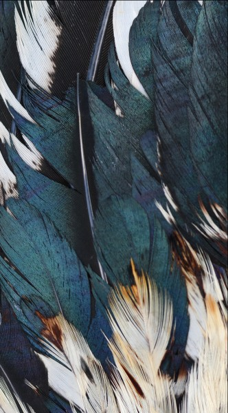 "GREEN MNKY Backcover Skin Smartphone 7"" (Struktur Serie) ""Feather Dream"" [3 Stück]"
