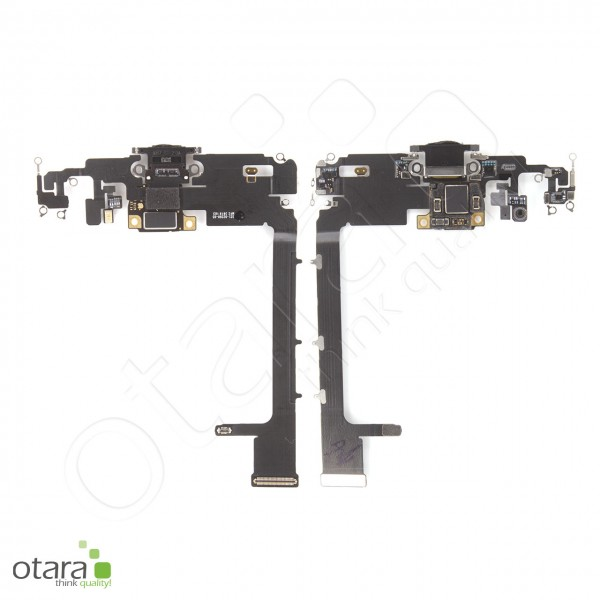 Lade Konnektor Flexkabel geeignet für iPhone 11 Pro Max (ori/pulled), schwarz