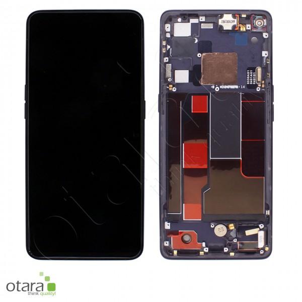 Displayeinheit OPPO FIND X2 NEO, moonlight black, Serviceware