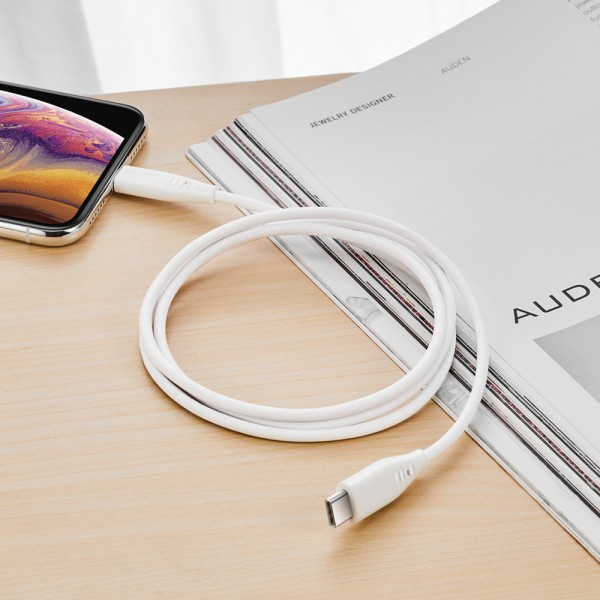 ESR Charging Cable USB-C to Lightning 1M Standard TPE White