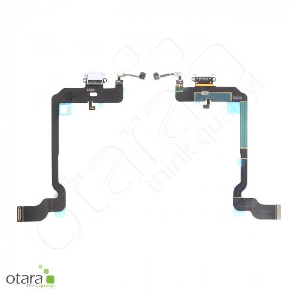 Lade Konnektor Flexkabel geeignet für iPhone XS (ori/pulled), weiß