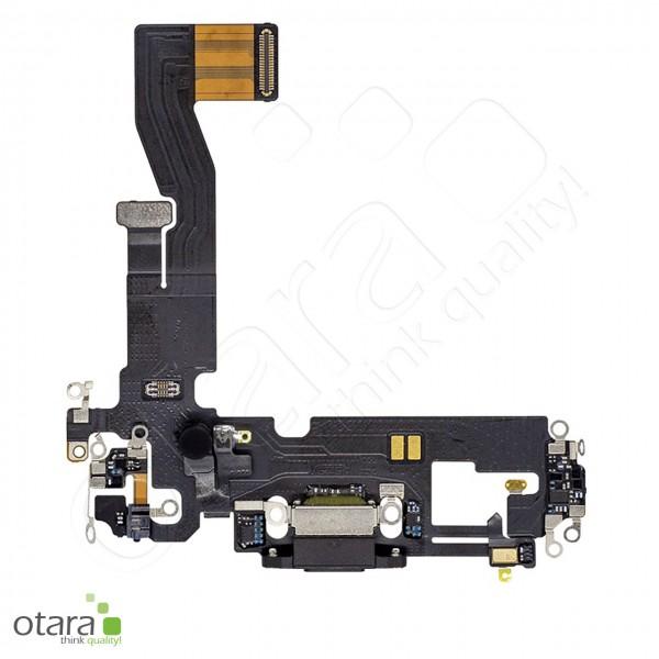 Lade Dock Connector Flex geeignet für iPhone 12 Pro (Ori/pulled Qualität), schwarz