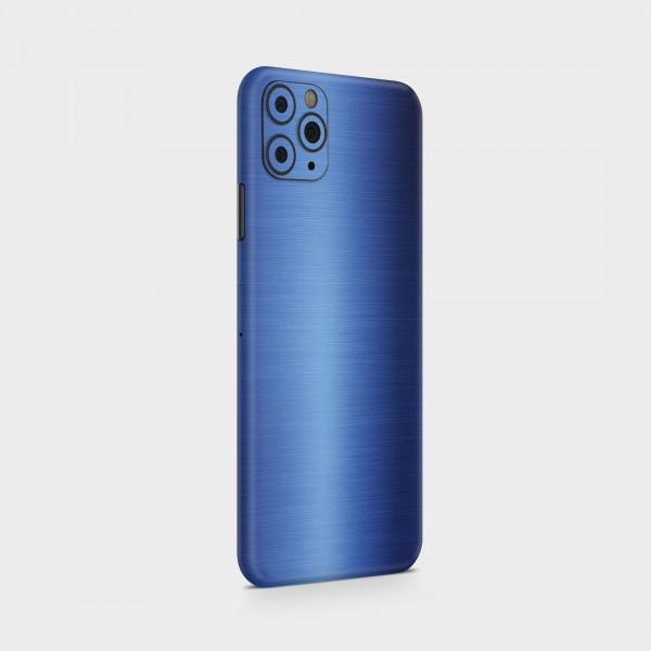 "GREEN MNKY Backcover Skin Smartphone 7"" (Struktur Serie) ""Brushed Metal Blue"" [3 Stück]"