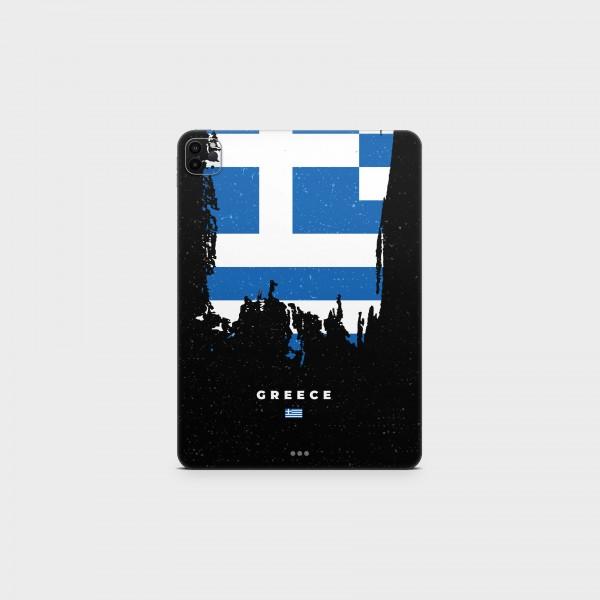 "GREEN MNKY Backcover Skin Tablet 11"" (Flags Serie) ""Greece Flag"" [3 Stück]"