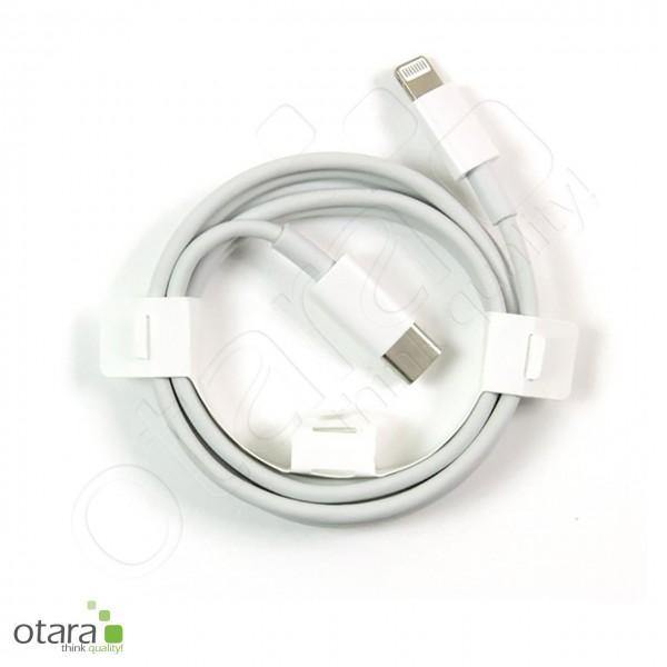 Ladekabel USB-C auf Lightning für iPhone 12, 1m, weiß