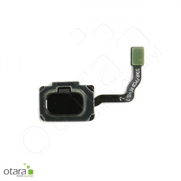 Samsung Galaxy S9 (G960F) S9 Plus (G965F) Homebutton Fingerprint Sensor, midnight black (kompatibel)