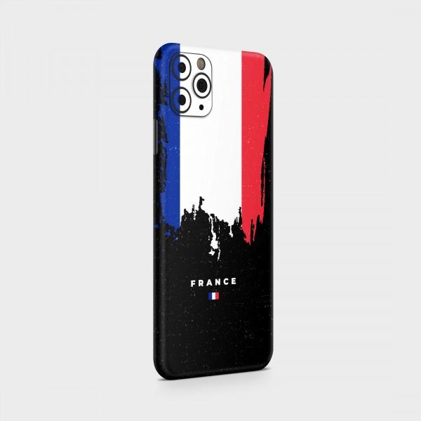 "GREEN MNKY Backcover Skin Smartphone 7"" (Flags Serie) ""France Flag"" [3 Stück]"