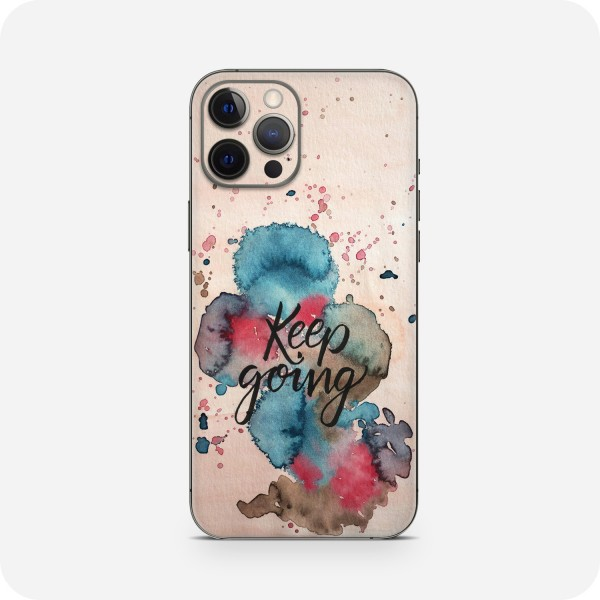 "GREEN MNKY Backcover Skin Smartphone 7"" (Diana Grimm Kollektion) ""Keep going"" [3 Stück]"