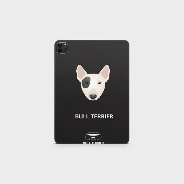 """GREEN MNKY Backcover Skin Tablet 11"""" (Design Serie) """"Bull Terrier"""" [3 Stück]"""