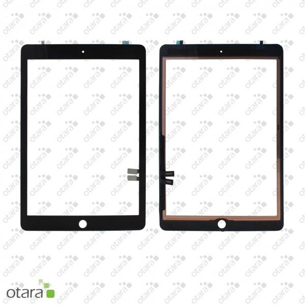 Displayglas geeignet für iPad 7 (10.2|2019) A2197 A2198 A2200 (o.HB), schwarz